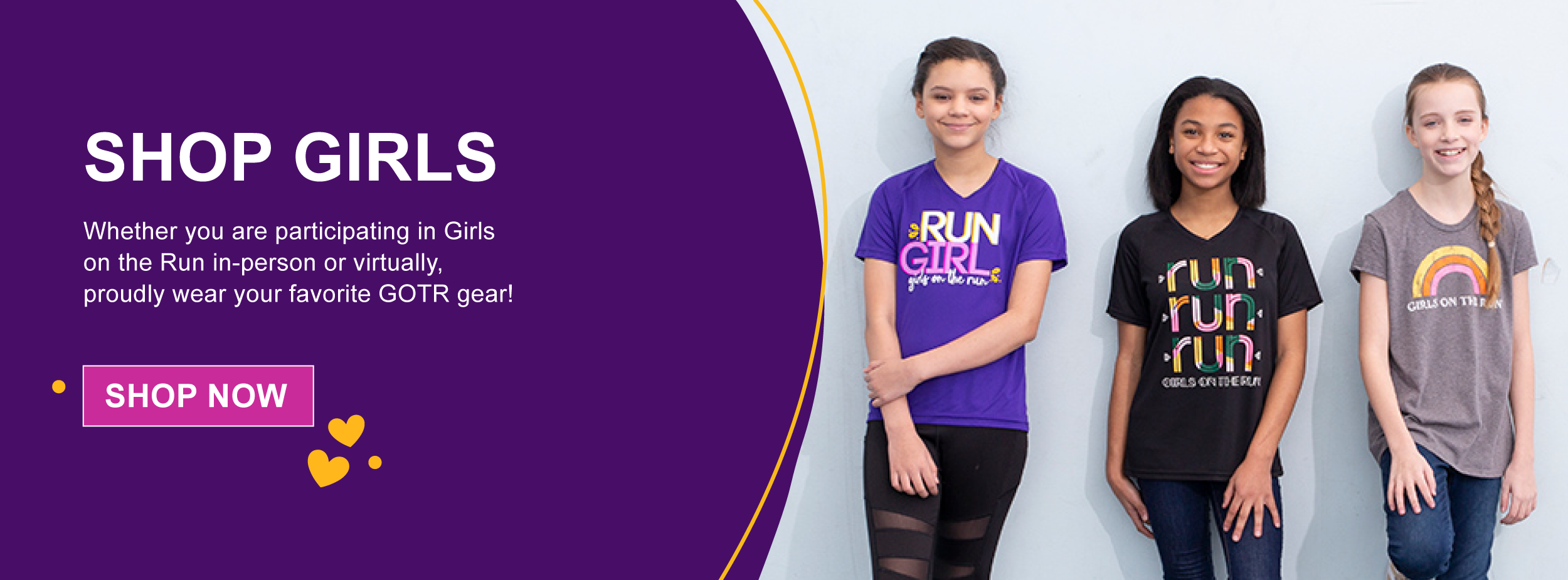girls on the run merchandise youth girls
