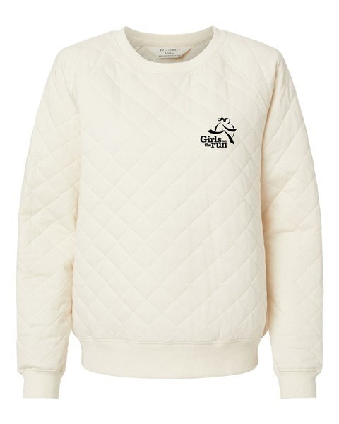 Quilted Crewneck