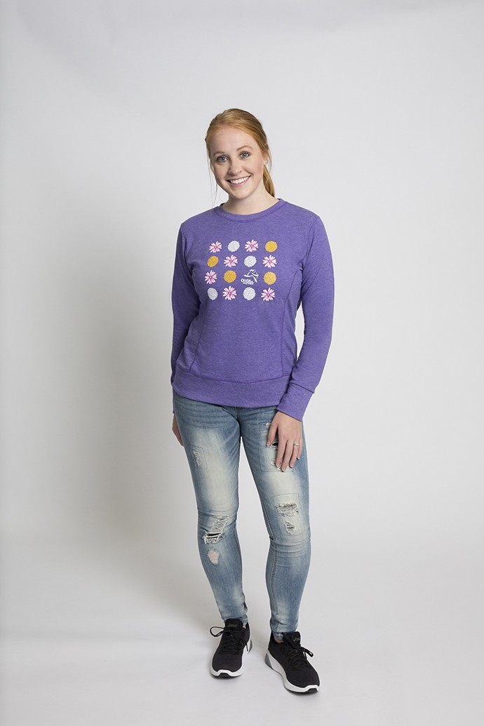 Daisy French Terry Sweatshirt