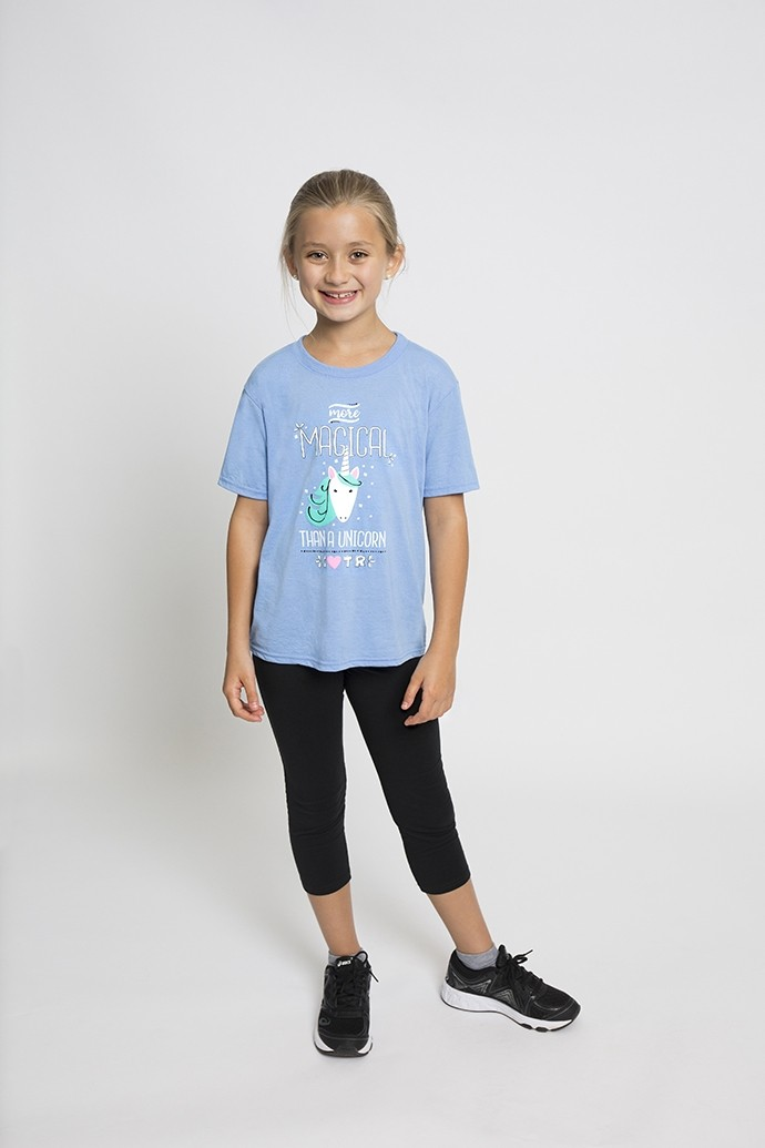 Youth Unicorn Performance Tee Shirt