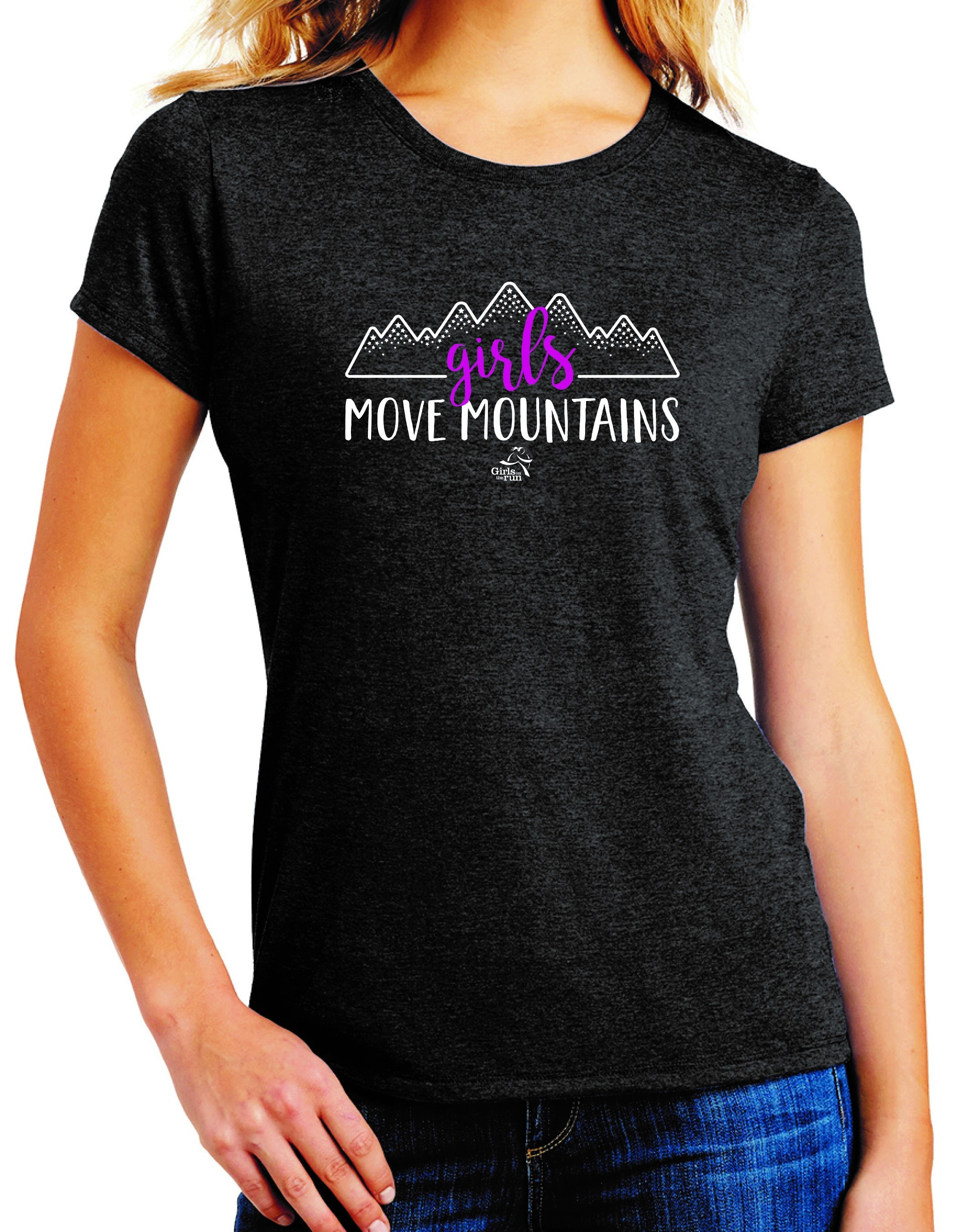 Girls Move Mountains Shirt Adult