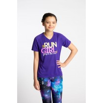Youth Run Girl Shirt