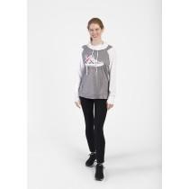 High Top Sneaker Ladies Echo Hoodie