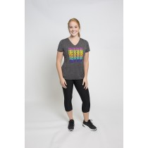 Girls on the Run Rainbow Tech Tee