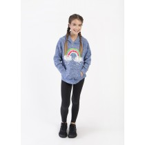 Rainbow Clouds Youth Hooded Pullover