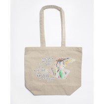 Run Like A Girl Canvas Tote