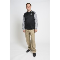 Tonal Blend Mens Quarter Zip Jacket