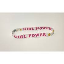 Girl Power Elastic Headband