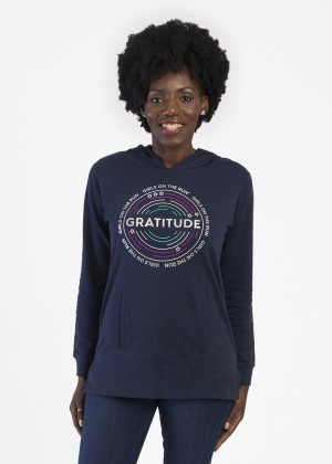 Gratitude French Terry Hoodie