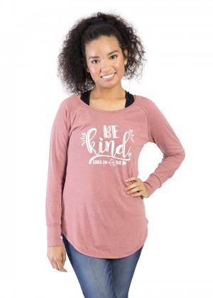 Be Kind Women's Long Sleeve Tunic