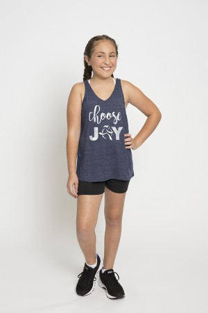 Youth Choose Joy Crossline Tank
