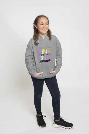 Girls on the Run is So Much Fun Hooded Sweatshirt